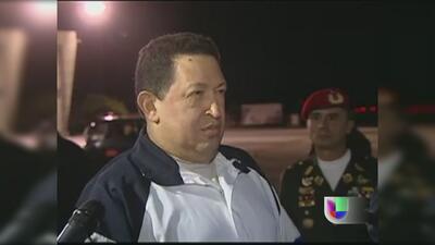 Ministro venezolano desmintió versiones sobre un coma de Hugo Chávez