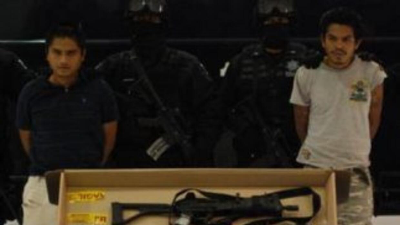 """Martín Campos, alias """"el Chivo"""", y Benito Ascencio Cárdenas, también lla..."""