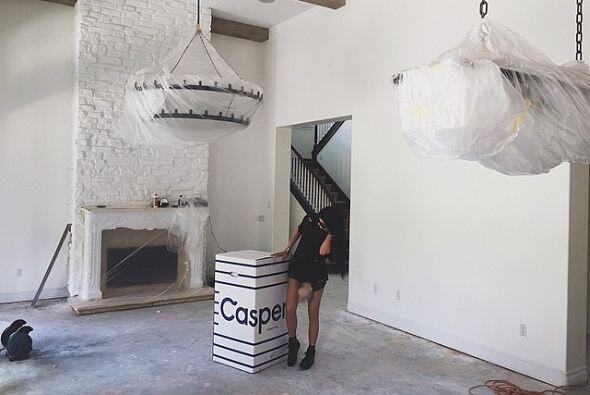 Kylie compartió una foto de su nueva y lujosa residencia, de un valor ap...