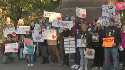 Realizan vigilia en contra de la violencia que se vive en los vecindarios de Chicago