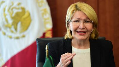La fiscal general de Venezuela, Luisa Ortega Díaz fue destituida del car...