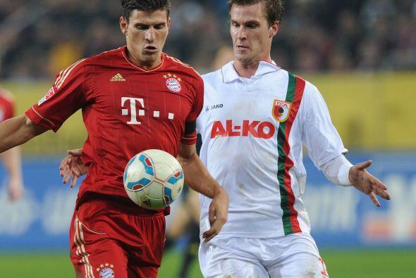 Bayern Munich encaró su duelo de la Bundesliga alemana, en su fecha 12,...