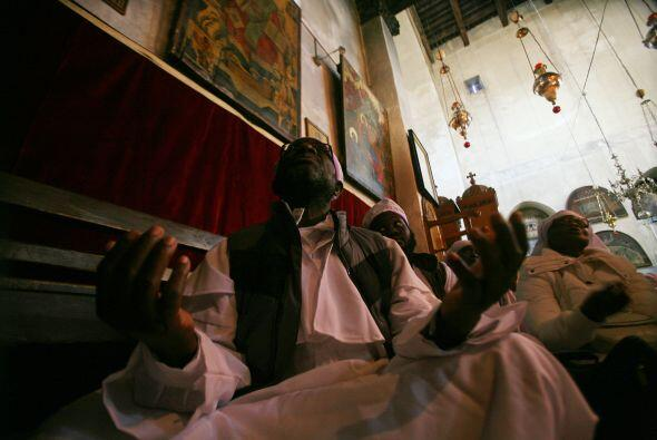 Respecto a la Tierra Santa, monseñor Fuad Twal manifestó s...