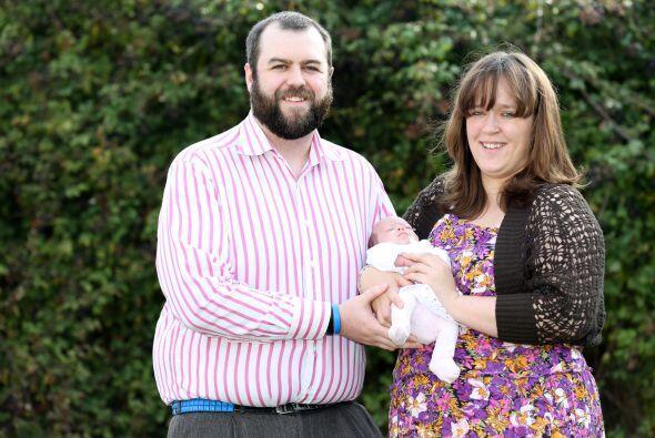 Hannah y su esposo Kyle por fin se llevaron a casa a su bebé, que está m...