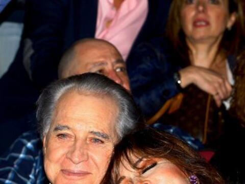 Verónica Castro soltó la lágrima en el homenaje de...