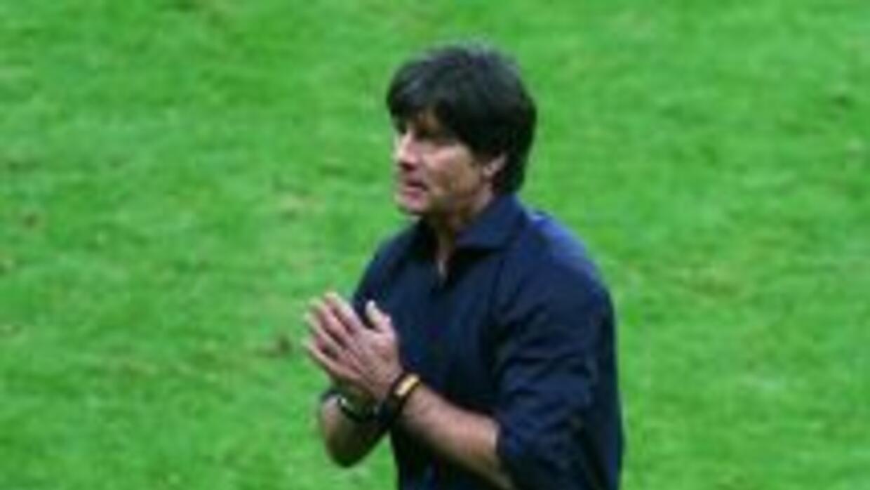 Joachim Low tras el juego contra Argelia.