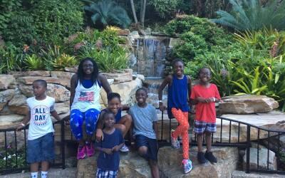 Los hijos adoptivos de DaShoan y Sofia Olds tienen entre 4 y 12 a&ntilde...
