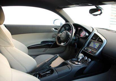 Los interiores tienen la calidad esperada de un Audi de primer nivel.