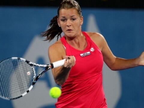 La polaca Agnieska Radwanska eliminó a la número uno del m...