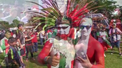 Fans de México se desviven por su selección