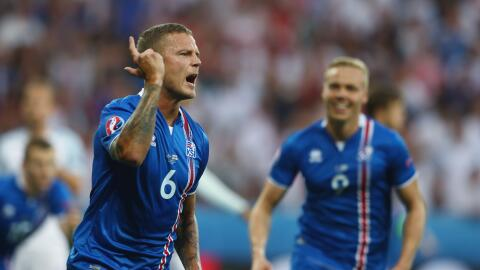 Islandia sorprende y elimina a Inglaterra