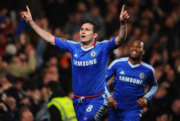 Franck Lampard fue el cobrador del disparo y no falló.