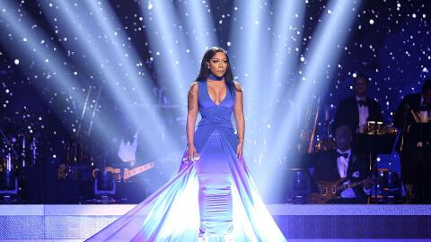 Singer K. Michelle performs on stage at the BET Honors awards show at th...