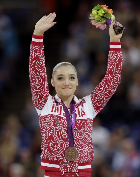 En Londres, la rusa Aliyá Mustáfina conquistó la pr...