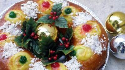 La tradicional rosca de Reyes