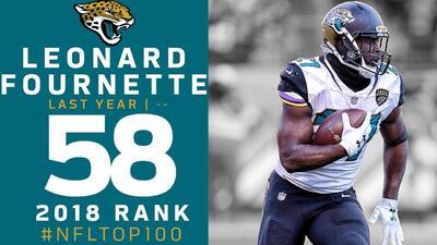 #58 Leonard Fournette (RB, Jaguars) | Top 100 Jugadores NFL 2018