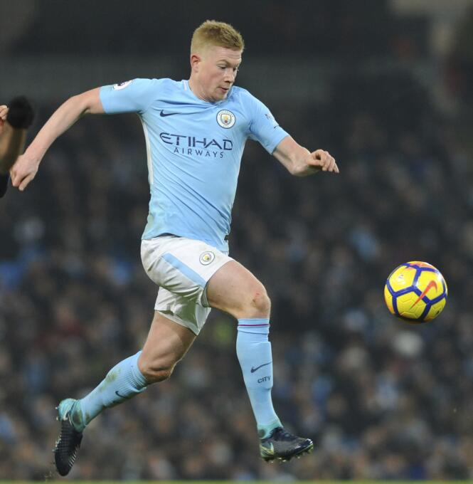 5. Kevin De Bruyne (Manchester City / Bélgica) - 53 puntos