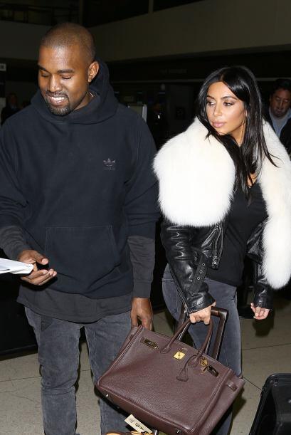 Al parecer Kim y Kanye volaron a Nueva York.