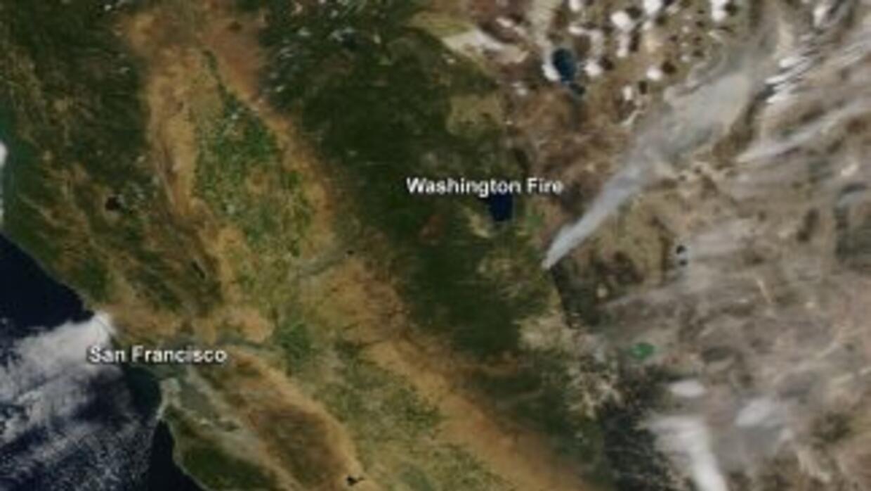 Imagen de satélite de NASA