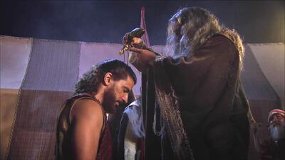 David fue coronado como rey de Israel