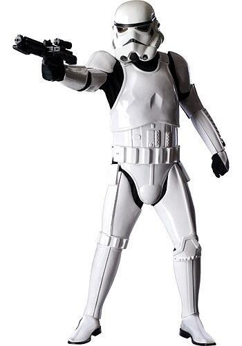El traje de Stormtrooper de Star Wars tiene un costo de $995 dólares.