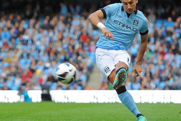 El futbolista del Manchester City tuvo un partido redondo ante el Sunder...
