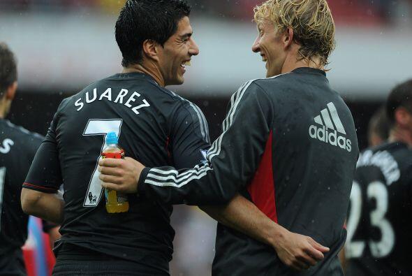 El uruguayo se convirtió en pieza fundamental para el Liverpool, a pesar...