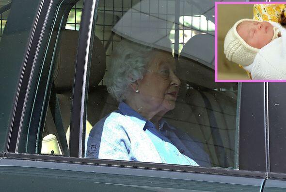 Charlotte es la quinta bisnieta de la reina, y su tocaya también.