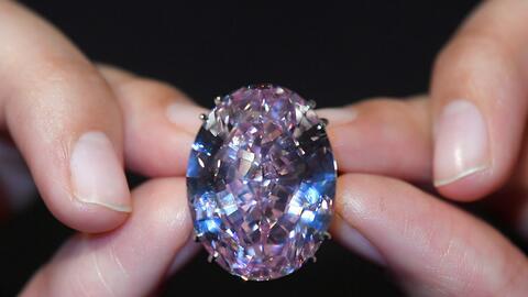 Así es el diamante más caro del mundo