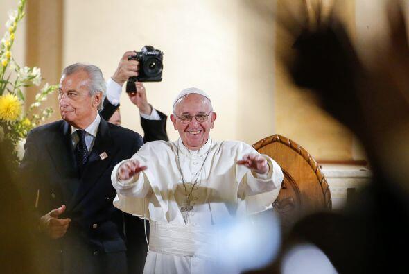 El pontífice en San Patricio, la iglesia católica más antigua de Washing...