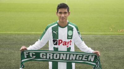 Uriel Antuna fue presentado en el Groningen