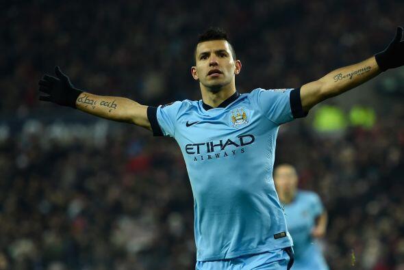 Sergio Agüero, el delantero del Manchester City se ha ganado el corazón...