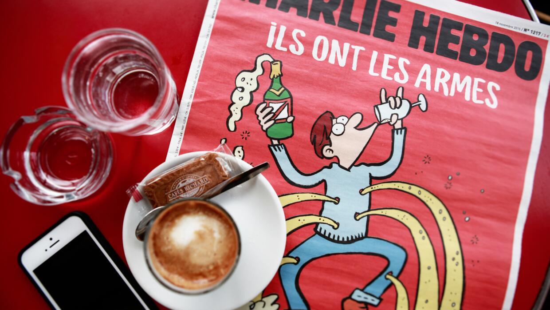 El más reciente número de Charlie Hebdo comenzó a c...