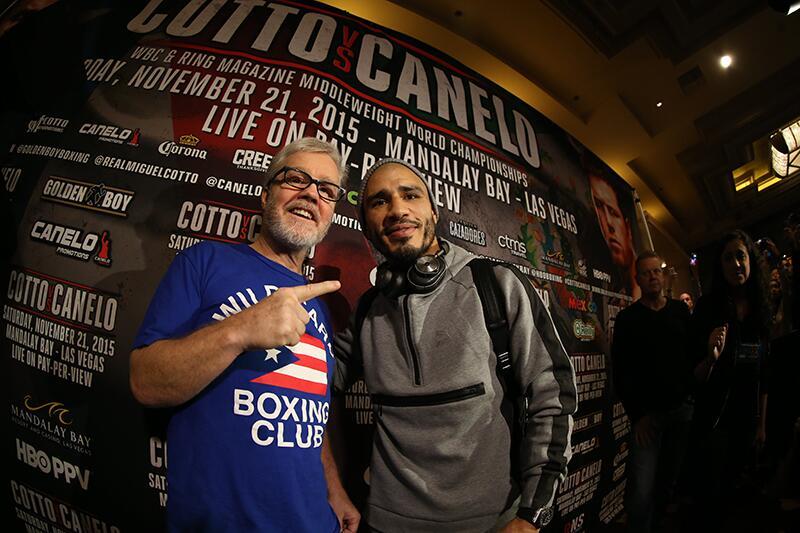 Cotto y Canelo llegan a Las Vegas