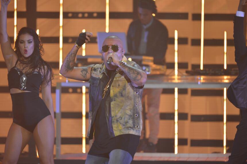 Una noche digna de finales. Pitbull, Fifth Harmony, Wisín, los jueces ca...