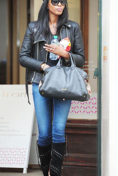 Naomi siempre será una gran figura en el mundo de la moda.