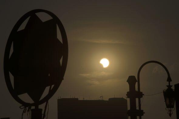 Este fue el último eclipse solar del año. El anterior ecli...