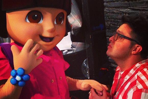 """Creo fue amor a primera vista"", bromeó Paul. (Mayo 2, 2014)"