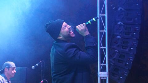 Singer Frankie J performs a soulful cover of Bronco's hit song, 'Nunca V...