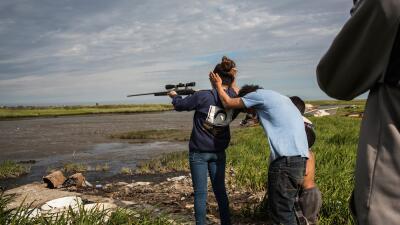 Jóvenes con armas