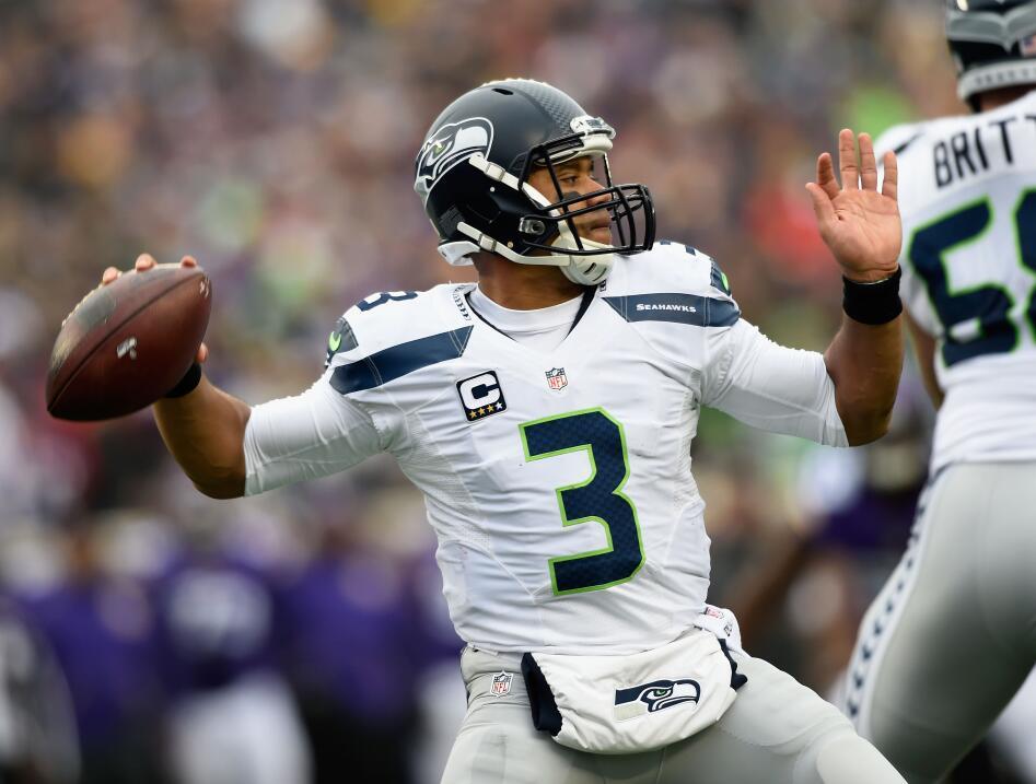 Gran actuación de Russell Wilson y de la defensiva de Seattle al parar l...
