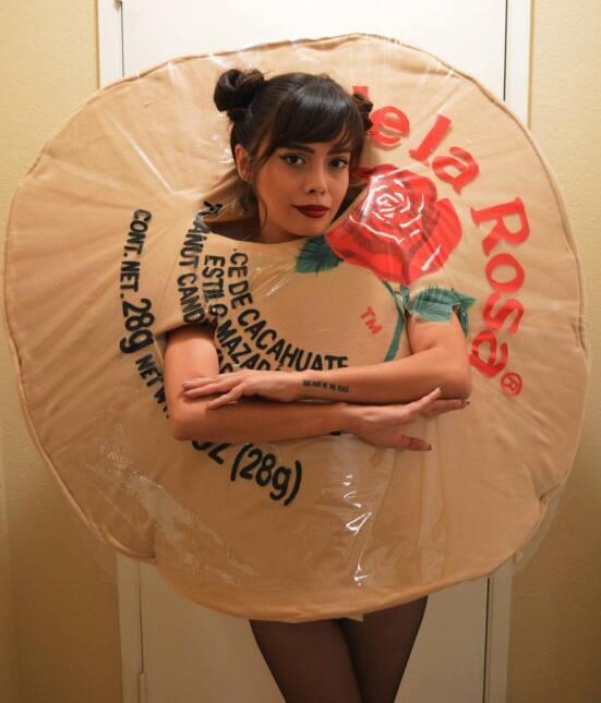 Sydney Presley, disfraces de Halloween