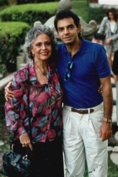 Silvia Derbez y Eugenio Derbez