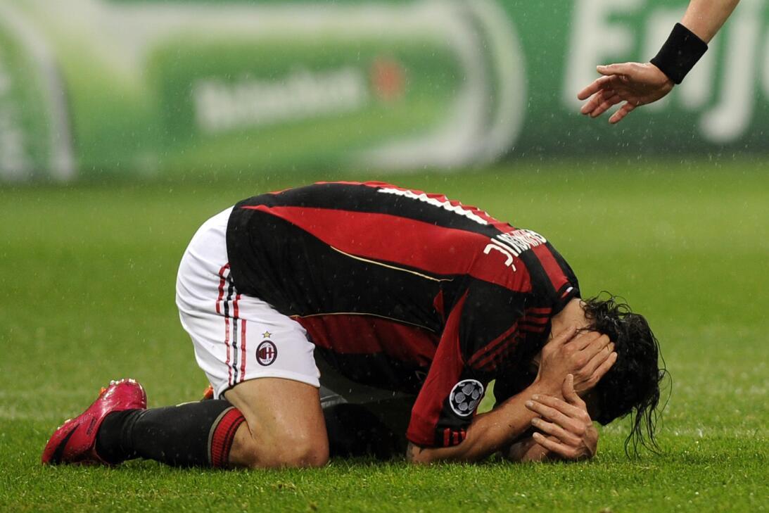 Lesiones insólitas de futbolistas al celebrar un gol gettyimages-1091636...