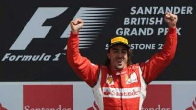 Alonso no ganaba desde el GP de Corea del año pasado.