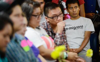Grupo de dreamers en una conferencia en California en 2012, poco antes d...