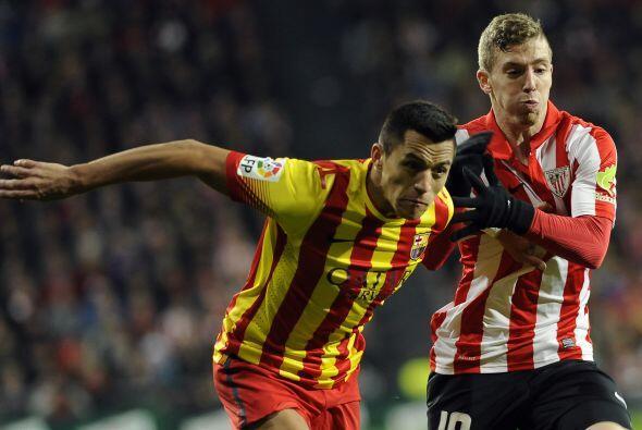Para el segundo tiempo, el Athletic le fue ganando la posesión de la pel...