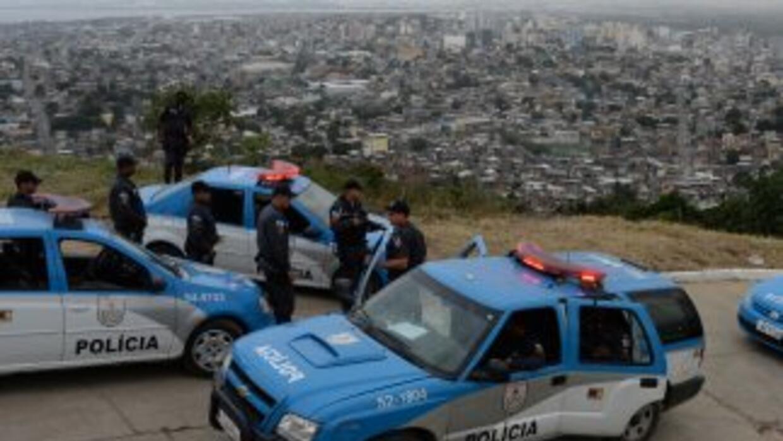 Policía de Brasil. (Imagen de Archivo).