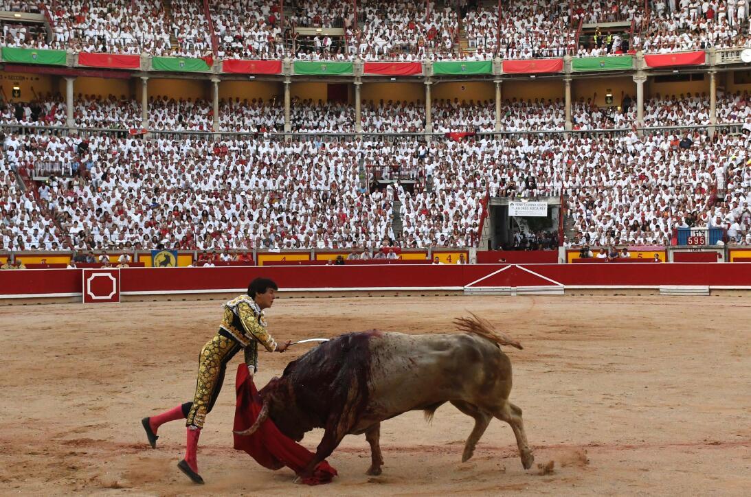 Fiestas españolas de San Fermín: ¿tortura o tradición? GettyImages-81274...