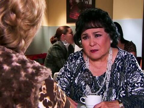 Ya no sabemos qué hacer con usted doña Yolanda. ¿Le...